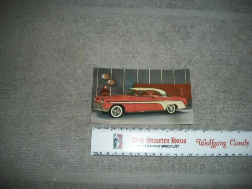 ORG.1955 DESOTO FIREFLITE DEALERSHIP POSTCARD BALTIMORE MD./WASHINGTON D.C.
