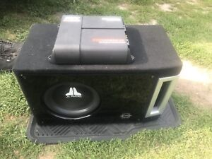Jl audio sub and mtx amp package with ported box