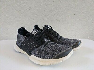 UNDER ARMOUR BOYS SNEAKERS SHOES, BLACK, SIZE 5Y