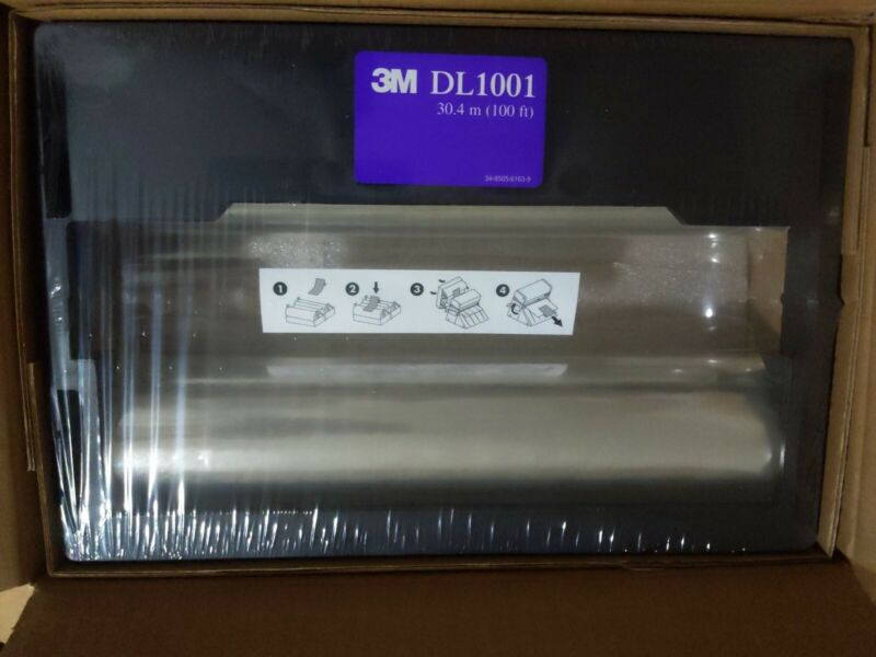 NEW 3M Double-Sided Lamination Cartridge DL1001 For 3M Laminating System LS1000