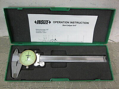 Insize 0-6 Dial Caliper With Case