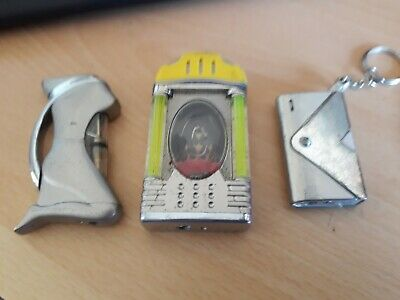 Joblot Of Unusual Vintage Lighters - All Spark