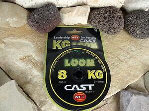 wft kg cast loom 300m self glowing round braided fishing line 7kg, Reel Combo