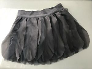 GAP kids Charcoal grey tulle skirt SZ  6-7