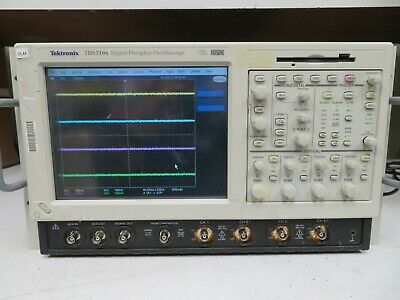 Tektronix Tds7104 1ghz 10gss Oscilloscope Dso With 16gb Ssd Opt. 3m Jit Ol44