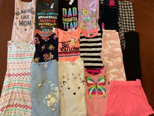 Girls Huge Size 16 FALL WINTER SCHOOL Clothing LOT Outfits TCP SO ARIZONA  NEW!