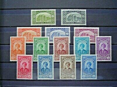 SYRIA 1934 ESTABLISHMENT  VALUES TO 7p50 LMM SG271/84