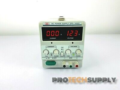 Mastech Gps-1850d Regulated Variable Dc Power Supply With Warranty