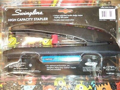 Swingline High Capacity 60 Sheet Stapler 074711777018n 77701 New In Box Staples