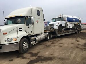 Heavy Equipment Transportation/ Flatbed Service/ Rv Towing