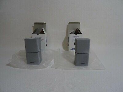 Nuevo Para Precio Especial 2 Pieza 2x Bose Doppelcube Altavoz Plata Par