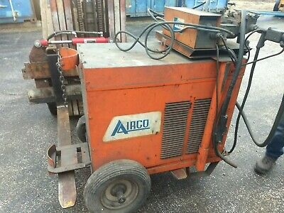 Airco Cv-450 Mig Welder With Aircomatic Wire Feeder 450 Amp Output