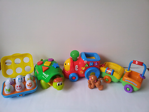 2 Fisher Price toys and  1 Bright Start Musical toy. Wantirna Knox Area Preview