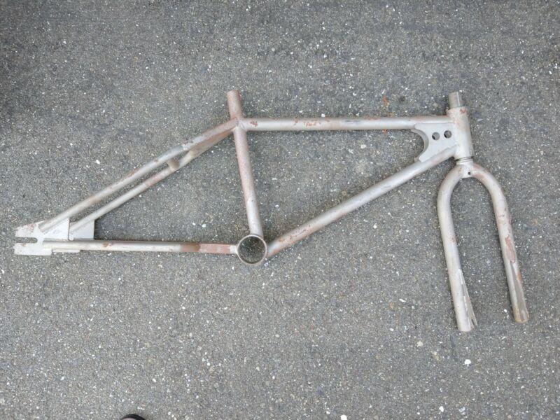 old school bmx frame and fork