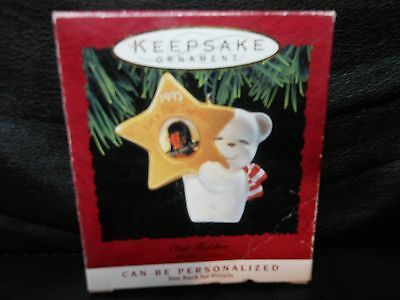 "Hallmark Keepsake ""Star Teacher"" 1993 Photo Holder Ornament NEW"