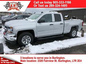 2016 Chevrolet Silverado 1500 Work Truck, Crew Cab, Back Up Came