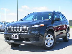 2015 Jeep Cherokee Sport! Local Trade! Great Shape!