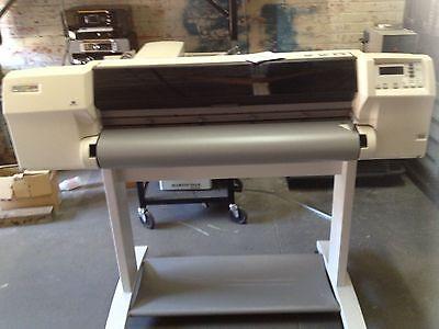 Hp Designjet 2500cp Large Format Color Inkjet Printer Plotter