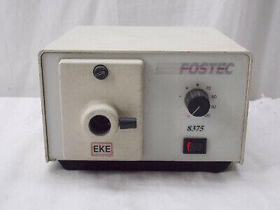 Fostec 8375 Fiber Optic Light Source