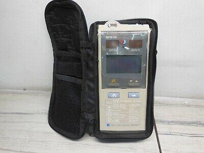 Nellcor Oximax Npb-75 Handheld Microstream Capnographpulse Oximeter