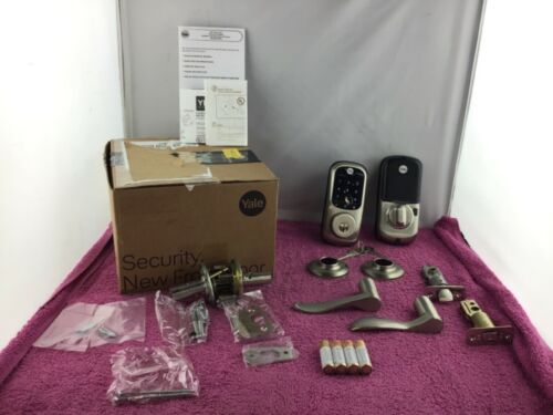 Yale Assure LockSet: Touchscreen Deadbolt + Accessories — USED