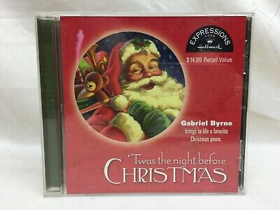 Gabriel Byrne Twas The Night Before Christmas Holiday Poem Hallmark Expressions  ()