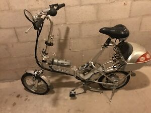 Folding electric bike 24volt 3 speeds