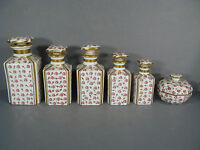 Neceser Aseo De Porcelana De Limoges / Botella De Parfum Antiguo -  - ebay.es