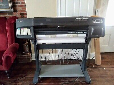 Hp Design Jet 1050c Printer