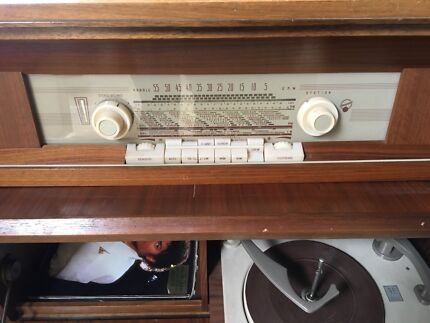 Vintage Blaupunkt Radio and Record Player