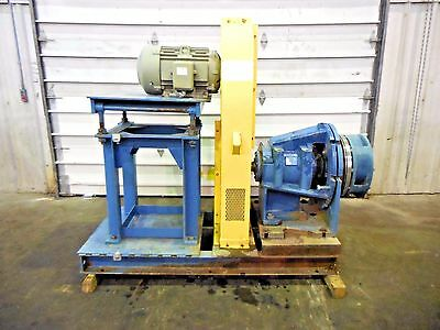 Rx-3607 Metso Mm250 Lhc-d 10 X 8 Slurry Pump W 15hp Motor And Frame