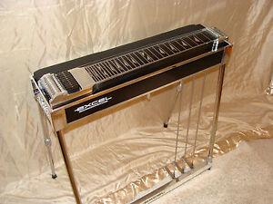 excel superb s 10 professional pedal steel guitar ebay. Black Bedroom Furniture Sets. Home Design Ideas