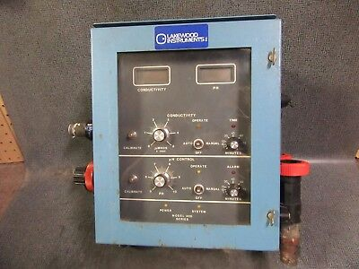 Lakewood Instruments Chemical Feed Pump Ph Controller Model 412 Output 5 Amp