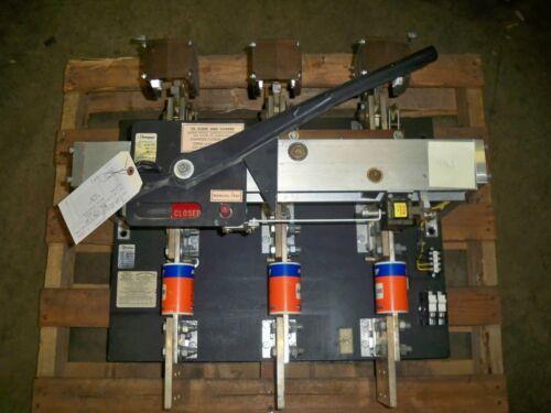 Qa-2533 Et Pringle Switch 2500a 3p 480v Black Insulator Used E-ok