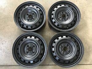Set of 15 inch 4 bolt rims/wheels.