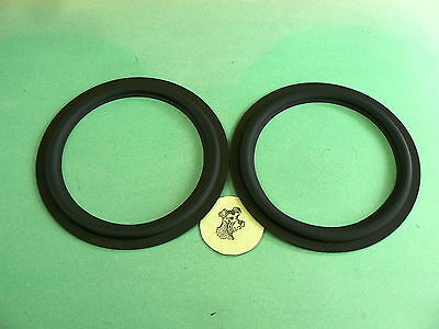 ** MADE IN USA PARADIGM 11se MKII BUTYL RUBBER SURROUNDS