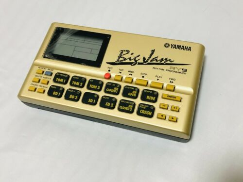 YAMAHA Big Jam RY9 Portable Sequencer Rhythm Programmer Drum Machine Groove Box