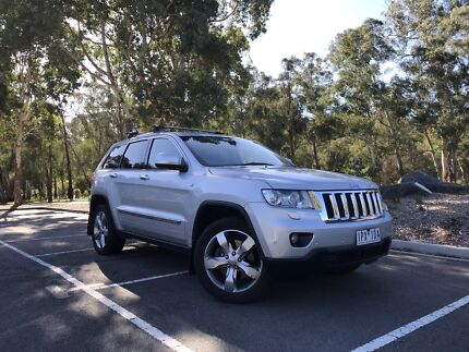 2012 Jeep Grand Cherokee Overland Doncaster East Manningham Area Preview