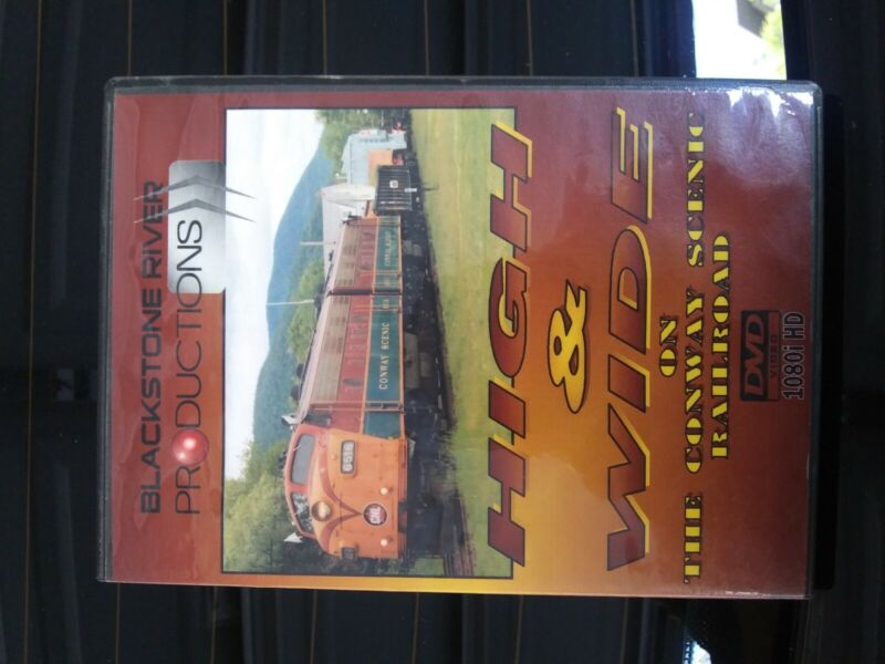 High & Wide on the Conway Scenic Railroad (DVD)