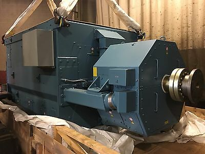 New 9.3 Mw Generator End 12470 Volt Abb Ams 900l6l Or 18000 Hp Motor 1200 Rpm