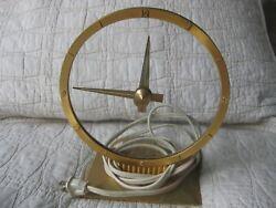 JEFFERSON GOLDEN HOUR CLOCK MYSTERY CLOCK VINTAGE