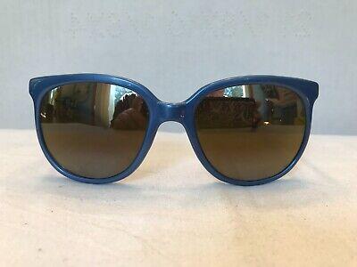 Vintage Vuarnet 002 Metallic Blue Double Gradient Mirrored Lenses (Vuarnet Ski Glasses)
