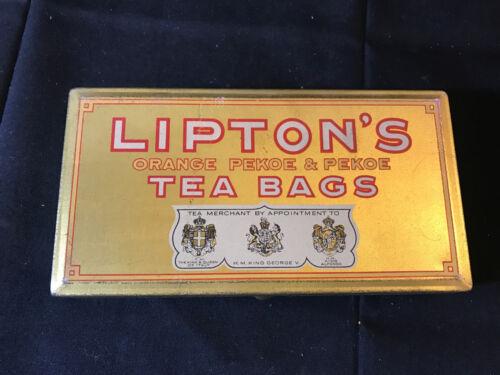 Old Vtg Collectible Lipton