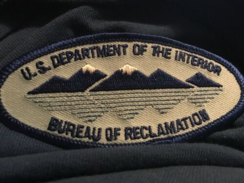 USA Department Dept. of the Interior Bureau of Reclamation patch - NEW!