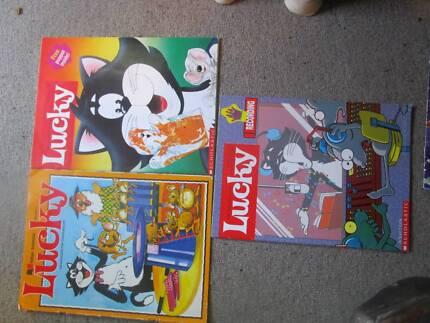 ***RARE*** 3 X Ashton Scholastic Lucky Magazines
