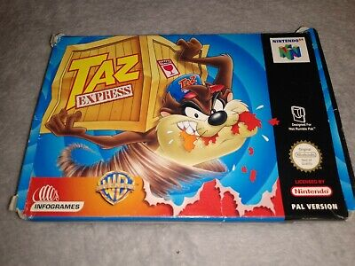 Taz Express - Nintendo 64, N64, Boxed Complete