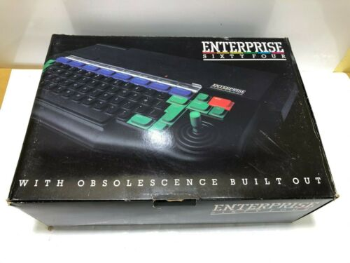 ENTERPRISE 64 Arabic and English Home Computer System - PAL Vintage - Boxed #3