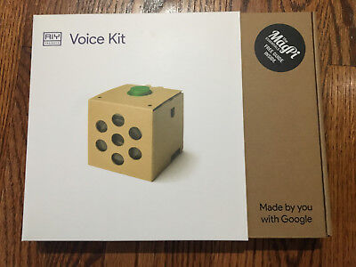 Google Aiy Projects Voice Kit   Magpi Essentials Guide   New In Box