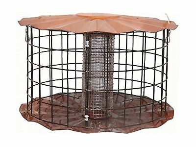 Squirrel Proof Peanut and Sunflower Feeder Feed Bird House Garden