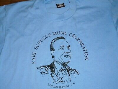 80s Tops, Shirts, T-shirts, Blouse   90s T-shirts RARE Vintage 1980s Earl Scruggs Music Celebration Boiling Springs NC T-Shirt XL $34.99 AT vintagedancer.com